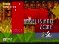 "Sonic 3k PC ""Angel Island act 2"" Music ""FM Synthesizer"""